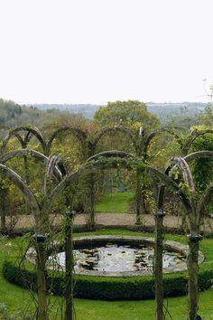 Un Inglés jardín del país en los Cotswolds (houseandgarden.co.uk)