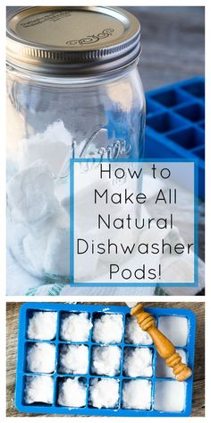 How to Make All Natural Dishwasher Pods! Diy Home Cleaning, Cleaning Recipes, Cleaning Hacks, Homemade Cleaning Supplies, Mattress Cleaning, Natural Cleaning Solutions, Natural Cleaning Products, Cleaners Homemade, Diy Cleaners