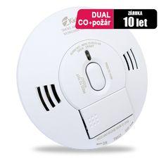 Kombinované zařízení pro zjištění požáru, kouře a smrtelného nebezpečí v podobě oxidu uhelnatého (CO) v jednom zařízení, nabízející dvojitou ochranu pro maximální komfort bezpečí. 10SCO má unikátní systém hlasového varování.Systém hlasového varování, také upozorní uživatele, přejde-li hlásič do režimu přechodného utišení hlásiče, je-li pamětí nejvyšší naměřené hodnoty hlásiče zaznamenána nežádoucí hladina CO nebo v případě, že se sníží kapacita napájecí baterie.