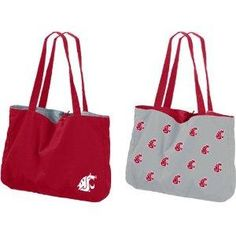 Washington State Cougars NCAA Reversible Tote #GoCougs