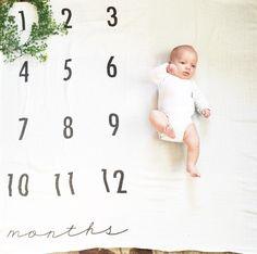 Monthly Milestone Blanket-- 1 weeks out
