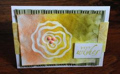 Best Wishes Card  Any Occasion Greeting Card by byLisaCardsCrafts