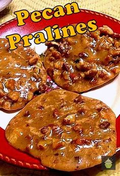 Pecan Pralines - A famous New Orlean's Institution! #pecan #pralines #NewOrleans #cookie