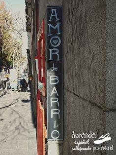 Aprende español callejeando por Madrid: Barrios. #ELE #español #Spanish #vocabulario #tiendas
