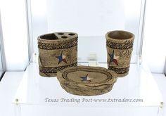 3 Piece Texas Bathroom Accessories Set