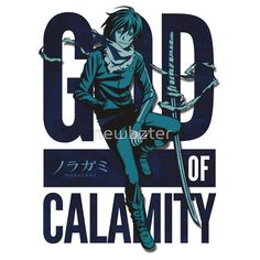 God of Calamity Noragami Yato shirt