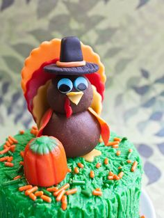 Video: How to make a turkey cake topper • CakeJournal.com