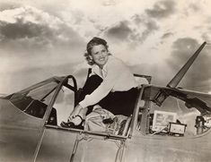 "Jacqueline ""Jackie"" Cochran, June 2, 1947. Cochran's career spanned four decades from the 1930s to the 1960s. Among her many accomplishments, she won the prestigious long-distance Bendix Trophy Race in 1937, founded the WASP (Women Airforce Service Pilots) during WWII, and became the first woman to break the sound barrier in 1953. Here she stands in the cockpit of her North American P-51B Mustang. SI-86-533"