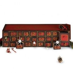 Advent Treasure Chest   Sturbridge Yankee Workshop - Love the look and idea of this, but not the price tag!