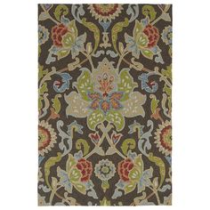 Found it at Joss & Main - Chauncy Floral Hand-Tufted Indoor/Outdoor Rug
