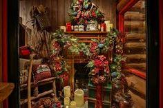 Image result for lodge christmas decor