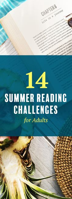 14 summer reading challenges for adults. This list of summer reading challenges promise to push you out of your reading rut for summer 2017.