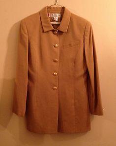 Saville 100 Wool Mustard Gold Jacket Blazer Size 10 | eBay