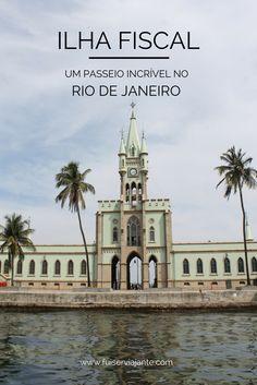 Visita guiada à Ilha Fiscal, no Rio de Janeiro. Um passeio muito legal e fora do comum para fazer no #riodejaneiro. Veja o rio com outro ângulo, a partir da #baiadeguanabara !
