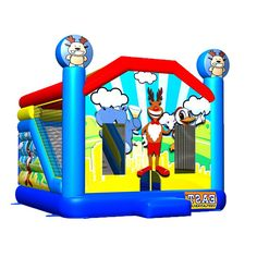e918dfde26 How To Buy Low-price And Best Backyardigans Bouncer Combo Four  Our Provide Commercial  Bounce House