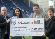 Two charities got a big cash boost during Preston North End's win over Stevenage at Deepdale.