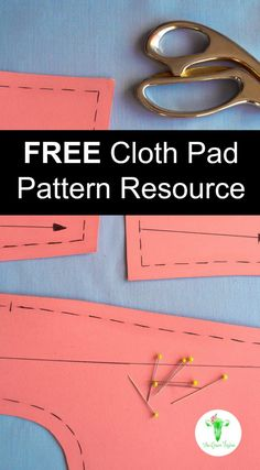 Cloth Pad Pattern Free + ⋆ The Green Vagina Source by clothes fashion fabrics Reuseable Pads, Reusable Menstrual Pads, Menstrual Cup, Sewing Tutorials, Sewing Patterns, Sewing Projects, Sewing Tips, Sewing Crafts, Diy Projects