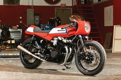 "Honda CB1100F Resto-Mod - Whoever said ""slow and steady wins the race"" never spent any time with Herm Narciso and Jason Paul Michaels at Dime City Cycles, because if they had, they'd know that not only can you work fast if you want to, sometimes it's the best way to get things done. ..."