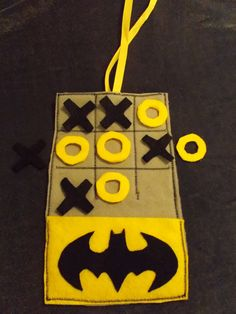Captain America tic tac toe Batman tic tac by TwoFrillyFillies Felt Games, Tic Tac Toe, Bat Signal, Third Grade, Captain America, Diy, Etsy Shop, Crafty, Sewing