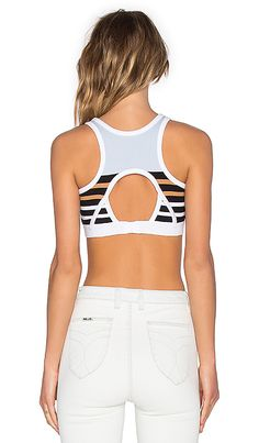 Shop for T by Alexander Wang Stretch Cotton Engineer Stripe Sports Bra in Ice Multi at REVOLVE. Free 2-3 day shipping and returns, 30 day price match guarantee.