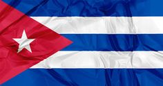 Cuba flag Royalty Free Stock Images