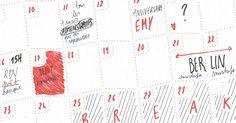 le wall memo calendar est un calendrier pour toute l'année, tous les mois, tous les jours. Afficher un mois, un trimestre , une année…