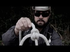 This vid demonstrates an excellent knot for joining two ropes. It won't ever jam or slip, and it unties like magic when you're done.
