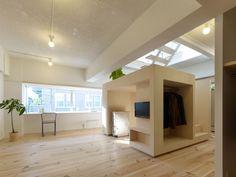 House in Megurohoncho, Tokio, Japan by Torafu architects