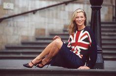 Kate Moss union jack