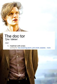 My Raggedy Doctor.
