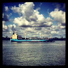 @Maersk Line in New Orleans. #nola