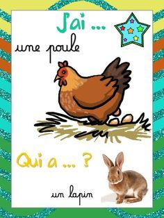 J'ai... Qui a... (animaux) - LaCatalane.pdf - Fichiers partagés - Acrobat.com Core French, French Class, Adobe Acrobat, French Immersion, Cycle 3, Teaching French, Preschool, Montessori, Activities