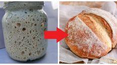 Perfektný kvások na domáci chlebík: Nepotrebujete droždie a kváskový chlieb je chutnejší, aj zdravší! Bread, Food, Brot, Essen, Baking, Meals, Breads, Buns, Yemek