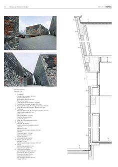 Detail nº 1 - 2011 Ningbo, Detailed Drawings, Spain, Floor Plans, Diagram, Models, Architecture, Tattoos, Cornices