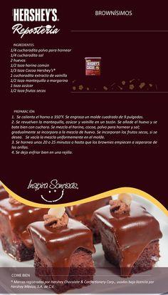 Hoy compartimos contigo una deliciosa receta preparada con nuestra Cocoa Hershey's