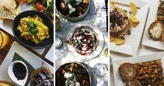 Les 13 meilleurs brunch véganes à Montréal (2017) | Vegan Level Up Brunch, Montreal, Palak Paneer, Ethnic Recipes, Places, Food, Brunch Party, Lugares