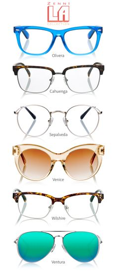 Classic profiles with modern flourishes for cool and effortless style. Shop our LA Collection.