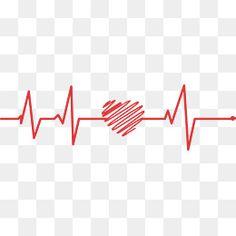 Linha vermelha o Amor, De Interesse Público, Vermelho De Amor, ECGPNG e Vector