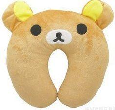 Stall selling wholesale panda plush toys u-shaped neck pillow U-shaped pillow lunch break pillow nap car neck - Alternative Measures - brown / See below for size descriptions - 8