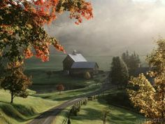 Sleepy Hollow Farm, Woodstock, Vermont.