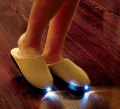 LED Slipper Invention Night Accessory