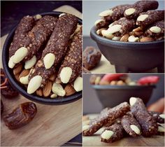 Raw Witches Fingers by @forkandbeans #paleohalloween
