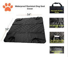 Amazon.com: il mio posto Pet Boutique Pet copertura Hammock con la cintura di sicurezza per cani: Pet Supplies