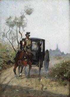 Carriage - Henri de Toulouse-Lautrec