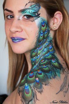 Peacock  -Nurit Pilchin