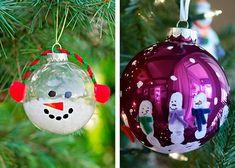 Beautiful Christmas Decorations, Christmas Table Decorations, Tree Decorations, Holiday Decor, Christmas Balls, Kids Christmas, Christmas Crafts, Xmas, Christmas Ornaments
