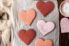 Red Velvet Sugar Cookies for Valentine's Day | xoxoBella