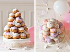 nice piece NOW climb, that's a nice take on the unavoidable (and not so good) Croque-en-Bouche ^^ Source by delphinoid Buffet Dessert, Brownies, Amazing Wedding Cakes, Wedding Desserts, Sweet Cakes, Savoury Dishes, Creative Food, Beautiful Cakes, Cake Cookies