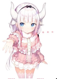 [Kawaii]Kanna wants to hold hands. [Kobayashi-san Chi no Maid Dragon]