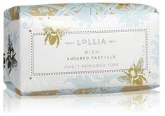 Lollia Wish Boxed Soap 5 2 oz - Luxury Skin Care Luxury Beauty, Beauty Bar, Glamour Shop, Wish Box, Shea Butter Soap, Soap Boxes, Bath Soap, Soap Making, Body Lotion